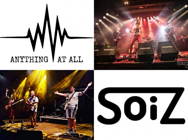 ANYTHING AT ALL mit SOIZ live on stage im Shakespeare Salzburg